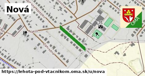 ilustrácia k Nová, Lehota pod Vtáčnikom - 172m