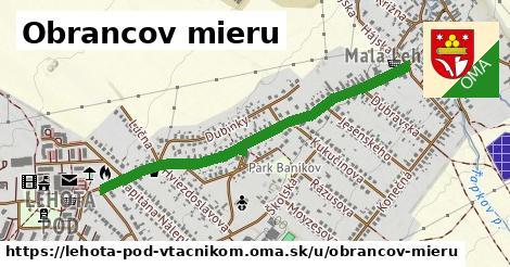 ilustrácia k Obrancov mieru, Lehota pod Vtáčnikom - 0,99km