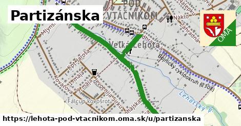 ilustrácia k Partizánska, Lehota pod Vtáčnikom - 1,06km