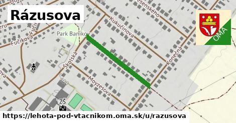 ilustrácia k Rázusova, Lehota pod Vtáčnikom - 254m
