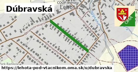 ilustrácia k Dúbravská, Lehota pod Vtáčnikom - 262m