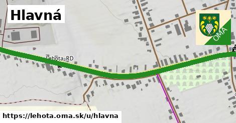 ilustrácia k Hlavná, Lehota - 0,99km