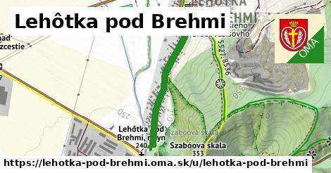 ilustrácia k Lehôtka pod Brehmi, Lehôtka pod Brehmi - 586m