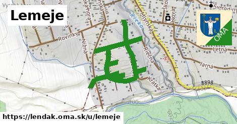 ilustrácia k Lemeje, Lendak - 1,24km