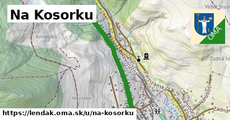 ilustrácia k Na Kosorku, Lendak - 634m