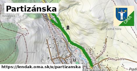 ilustrácia k Partizánska, Lendak - 0,94km