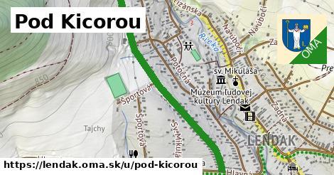 ilustrácia k Pod Kicorou, Lendak - 0,92km