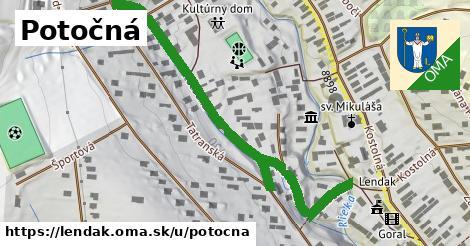 ilustrácia k Potočná, Lendak - 612m