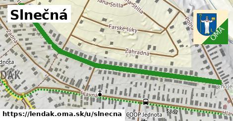 ilustračný obrázok k Slnečná, Lendak