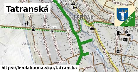 ilustračný obrázok k Tatranská, Lendak
