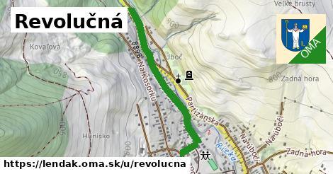 ilustrácia k Revolučná, Lendak - 0,76km