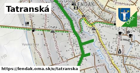 ilustrácia k Tatranská, Lendak - 1,56km