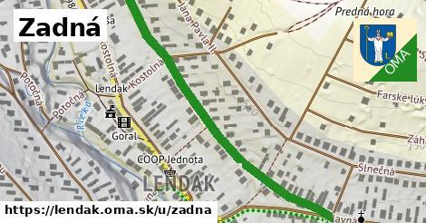 ilustrácia k Zadná, Lendak - 597m