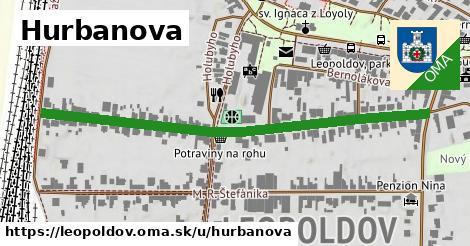 ilustrácia k Hurbanova, Leopoldov - 615m