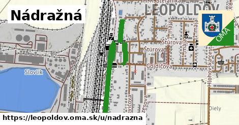 ilustrácia k Nádražná, Leopoldov - 1,48km