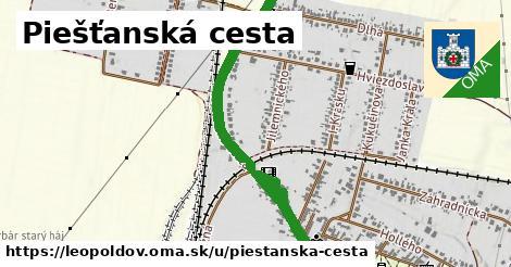 ilustrácia k Piešťanská cesta, Leopoldov - 0,88km