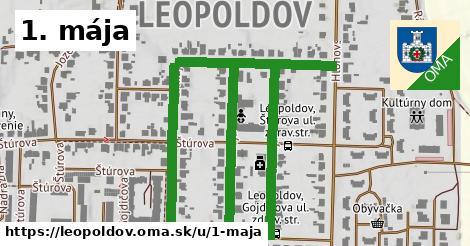 ilustrácia k 1. mája, Leopoldov - 0,83km