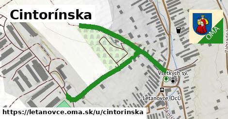 ilustrácia k Cintorínska, Letanovce - 0,96km