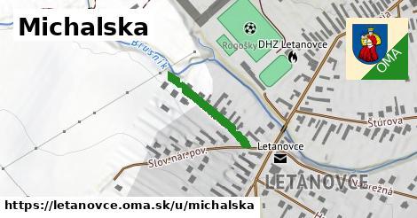 ilustrácia k Michalská, Letanovce - 666m