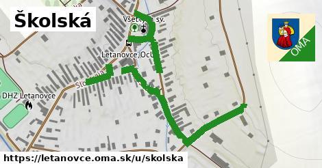 ilustrácia k Školská, Letanovce - 597m