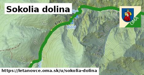 ilustrácia k Sokolia dolina, Letanovce - 2,5km