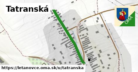 ilustračný obrázok k Tatranská, Letanovce