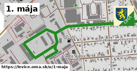 ilustrácia k 1. mája, Levice - 1,10km
