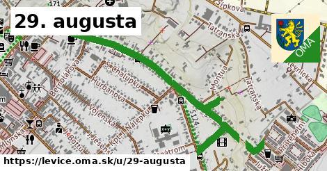 ilustrácia k 29. augusta, Levice - 1,43km