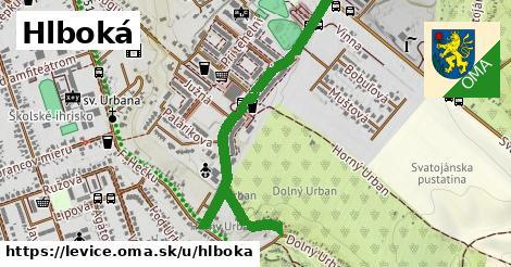 ilustrácia k Hlboká, Levice - 0,81km