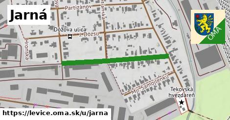 ilustrácia k Jarná, Levice - 350m