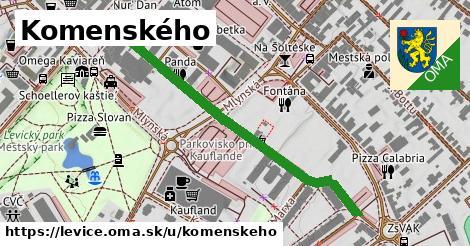 ilustrácia k Komenského, Levice - 505m