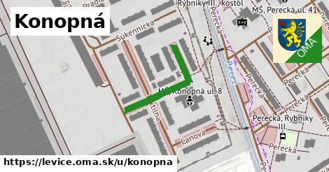 ilustrácia k Konopná, Levice - 253m