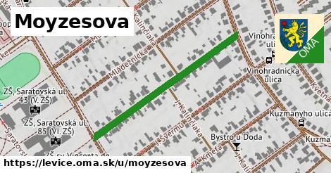 ilustrácia k Moyzesova, Levice - 400m