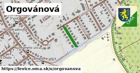 ilustrácia k Orgovánová, Levice - 132m