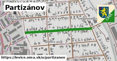 ilustrácia k Partizánov, Levice - 428m