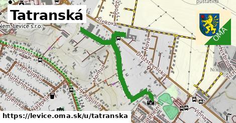 ilustračný obrázok k Tatranská, Levice