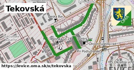 ilustrácia k Tekovská, Levice - 360m