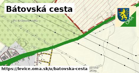 ilustrácia k Bátovská cesta, Levice - 2,6km