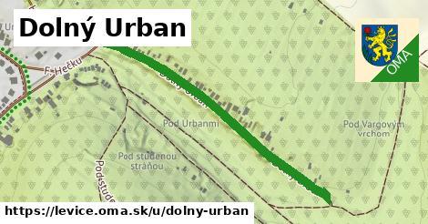 Dolný Urban, Levice