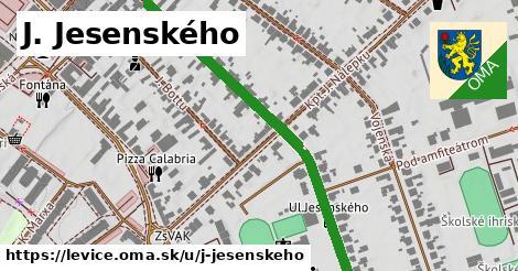 ilustrácia k J. Jesenského, Levice - 0,71km