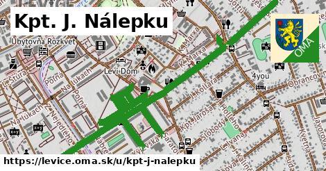 ilustrácia k Kpt. J. Nálepku, Levice - 2,1km