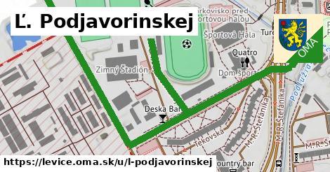ilustrácia k Ľ. Podjavorinskej, Levice - 1,15km