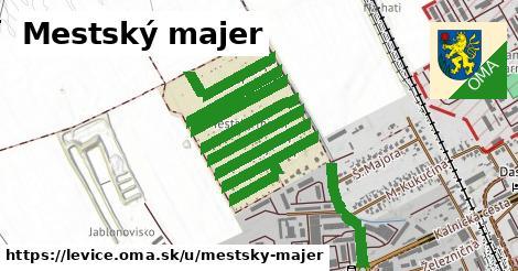 ilustrácia k Mestský majer, Levice - 2,8km