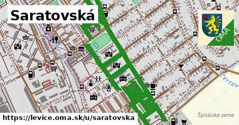 Saratovská, Levice