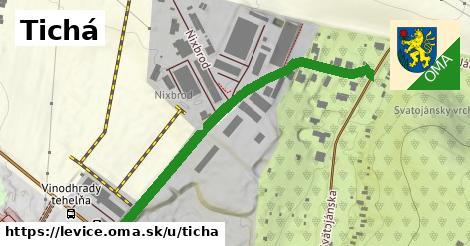 ilustrácia k Tichá, Levice - 550m