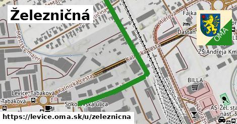 ilustrácia k Železničná, Levice - 527m