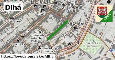 ilustrácia k Dlhá, Levoča - 181m