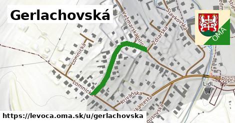 ilustrácia k Gerlachovská, Levoča - 266m