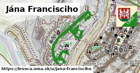 ilustrácia k Jána Francisciho, Levoča - 1,53km