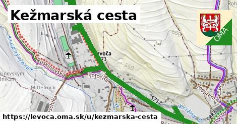 ilustrácia k Kežmarská cesta, Levoča - 1,62km